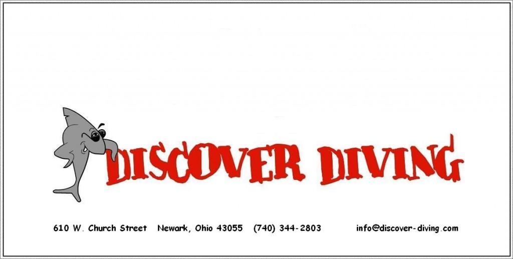 discover diving logo